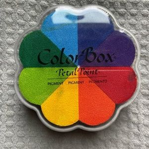 Color box stamp set